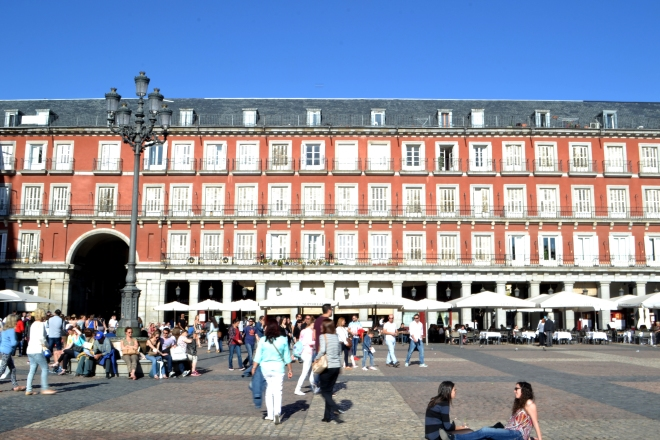 Plaza Mayor - Madrid, Spain