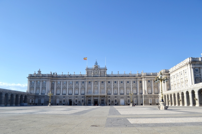 Royal Palace - Madrid Spain