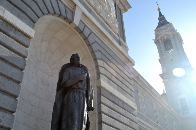 Almudena Cathedral - Madrid Spain