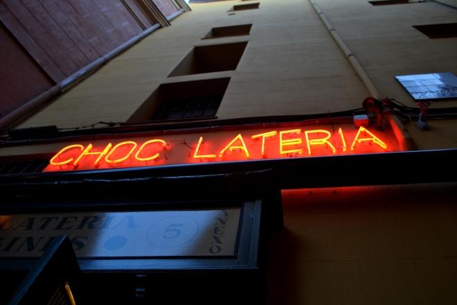 Chocolateria San Gines - Madrid, Spain
